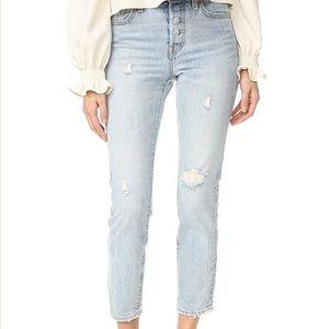 Levi's Wedgie Icon Selvedge Jeans sz 29 NWT